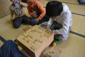 囲碁・将棋体験写真